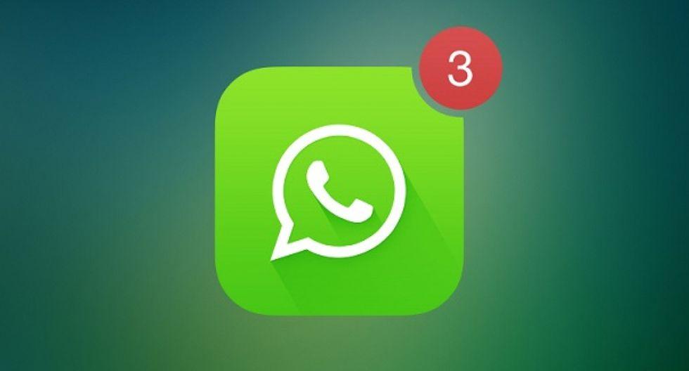 Por esta razón no llegan los mensajes a tu celular hasta que abras la aplicación de WhatsApp. ¿Cómo solucionarlo? (Foto: WhatsApp)