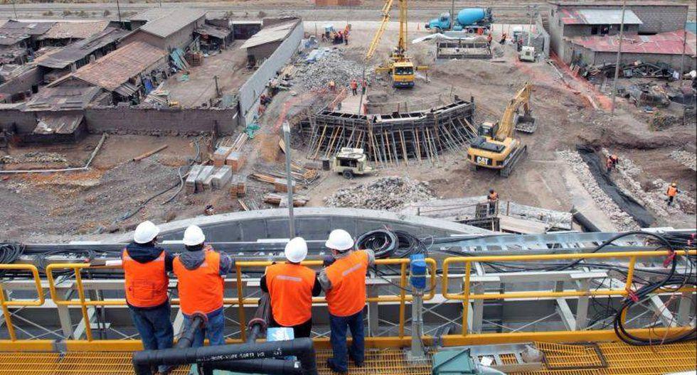 El mayor consumo de cemento es un indicador del desempeño del sector construcción. (Foto: GEC)