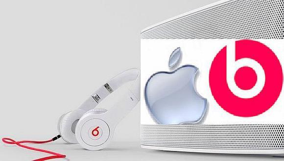 Apple comprará compañía de audífonos Beats Electronics