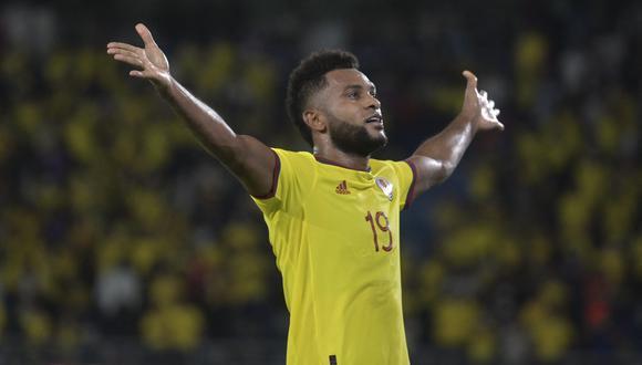 Borja anotó un doblete para Colombia, que derrotó a Chile de local por 3-1. (Foto: AFP)