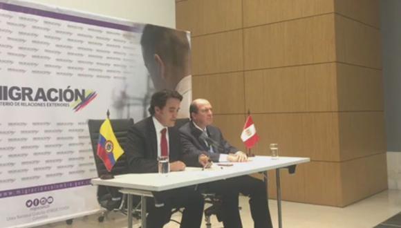 El lunes 27 y martes 28, autoridades migratorias de Brasil, Colombia y Perú se reunieron en Bogotá (Colombia) para atender acuerdos respecto a la migración venezolana en la región. (Foto: Migraciones Colombia)