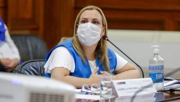 Fiorella Molinelli aseguró que norma aprobada por el Congreso viola el artículo 79 de la Constitución. (Foto: Difusión)