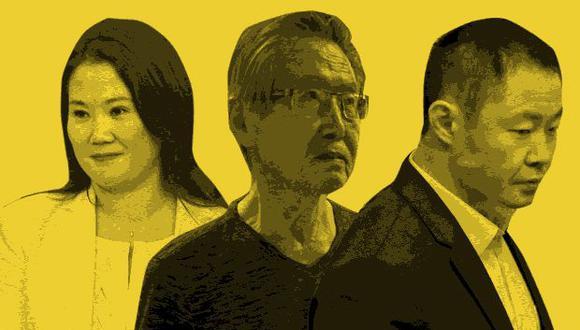 El hijo del ex presidente recrimina a sus copartidarios el haber aprovechado el nombre de Alberto Fujimori para salir elegidos y, luego, dejarlo olvidado en prisión. (Composición: El Comercio)