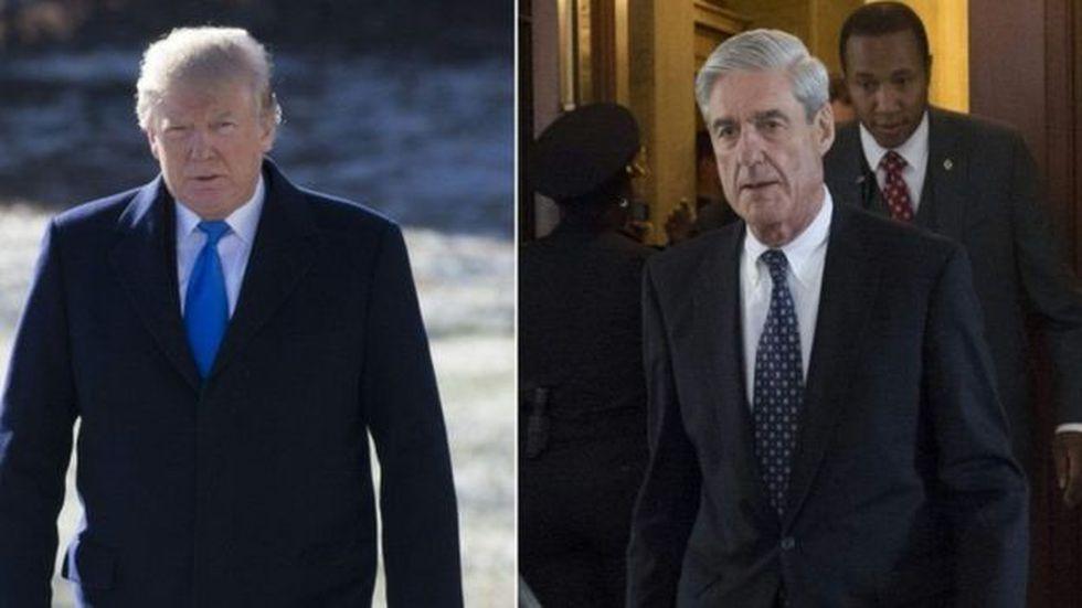 """El presidente Trump calificó la investigación de Mueller como """"una cacería de brujas"""". (Foto: AFP)"""
