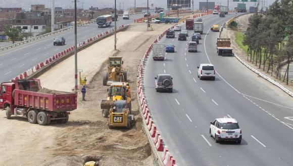 Tránsito en vía de Evitamiento será desviado por obras