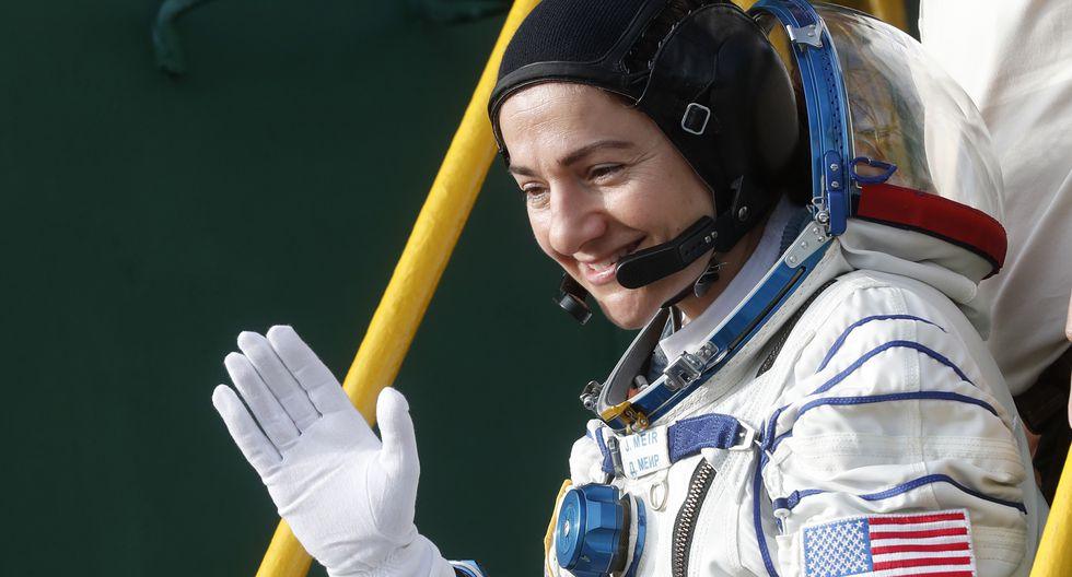La astronauta Jessica Meir es una de las principales candidatas para convertirse en la primera mujer en la Luna. (Foto: Maxim SHIPENKOV / POOL / AFP)