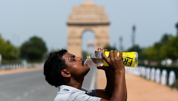 Nueva Delhi registró 50 grados Celsius durante mayo. (Foto: Jewel SAMAD / AFP)