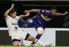 Boca empató 1-1 ante Sarmiento por la Copa de la Liga en La Bombonera