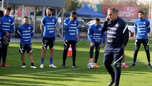 Lasarte ya tendría su once titular para enfrentar a Argentina por las Eliminatorias. (Foto: Agencias)