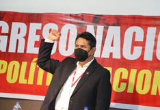 Vladimir Cerrón impulsa recolección de firmas para asamblea constituyente