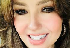 Acusan a Thalía de abusar del Photoshop en foto 'homenaje' a fallecido Michael Jackson