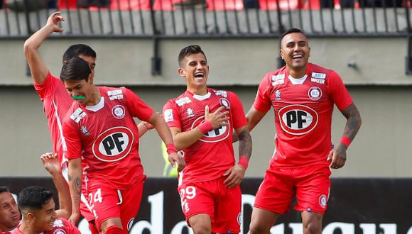 Unión La Calera venció 2-1 a la Universidad Católica por la Copa Chile | Foto: CDF