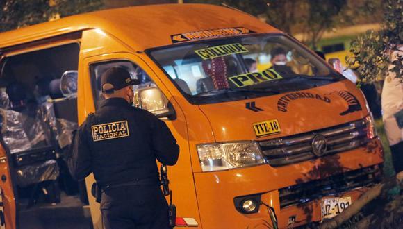 El crimen del chofer de combi ocurrió en el AA.HH. Cruz de Motupe en San Juan de Lurigancho. (Foto: César Grados/@photo.gec)