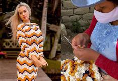 Katy Perry lució vestido artesanal peruano: ¿Cómo conoció la diva del pop a la marca peruana Escvdo?