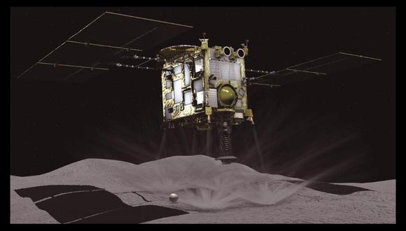La sonda Hayabusa2 fue lanzada a fines del año 2014. (Foto: Efe)