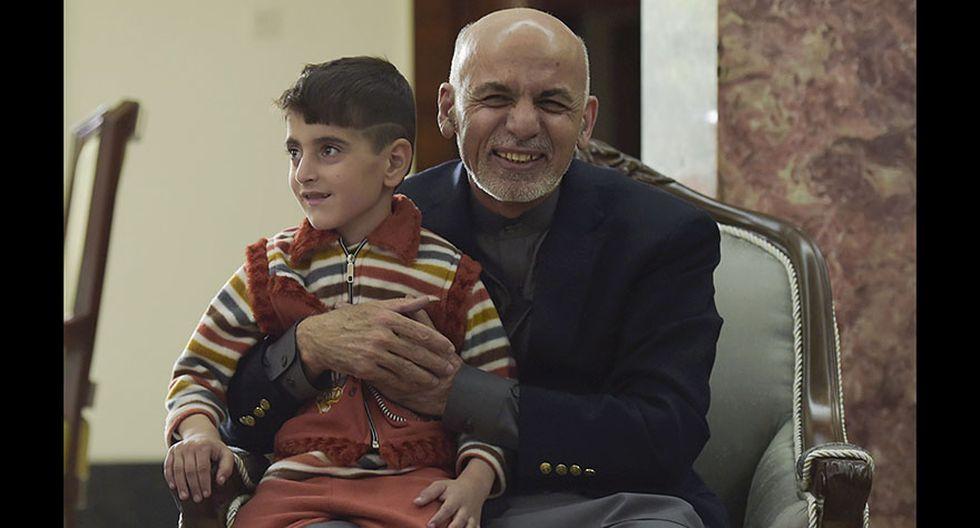 La afgana de los ojos verdes regresó a su natal Afganistán - 7