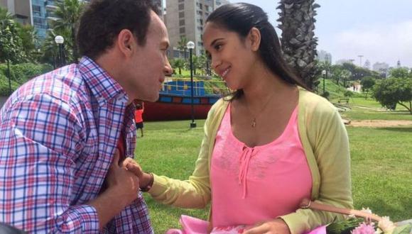 """Melissa Paredes y Rodrigo Sánchez Patiño, actores de """"Ojitos hechiceros"""". (Foto: Difusión)"""