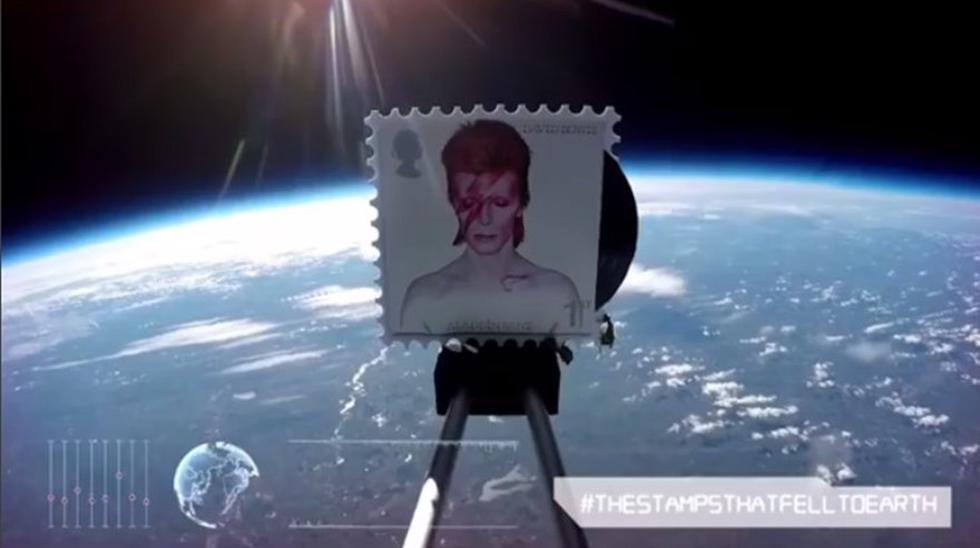 Lanzan al espacio sellos especiales en homenaje a David Bowie - 1
