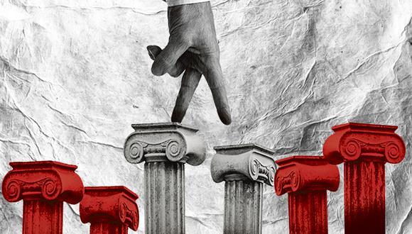 """""""El tiempo es muy corto para una reforma integral, muy necesaria pero huérfana de un gran respaldo"""". (Ilustración: Giovanni Tazza)"""