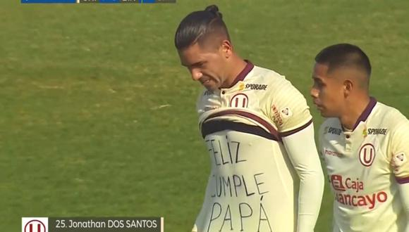 Gol de Jonathan Dos Santos en Universitario vs Binacional por Liga 1