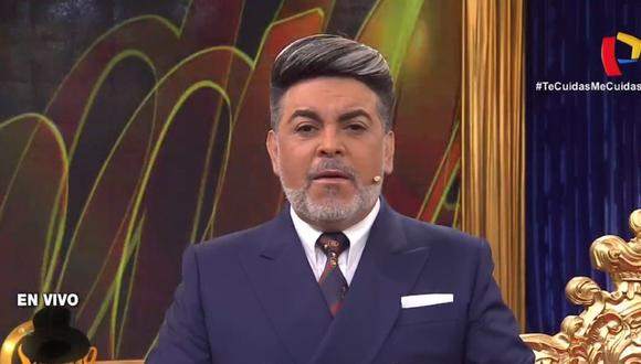 """Andrés Hurtado reapareció al frente de """"Porque hoy es sábado con Andrés"""". (Foto: Captura de Porque hoy es sábado con Andrés)"""