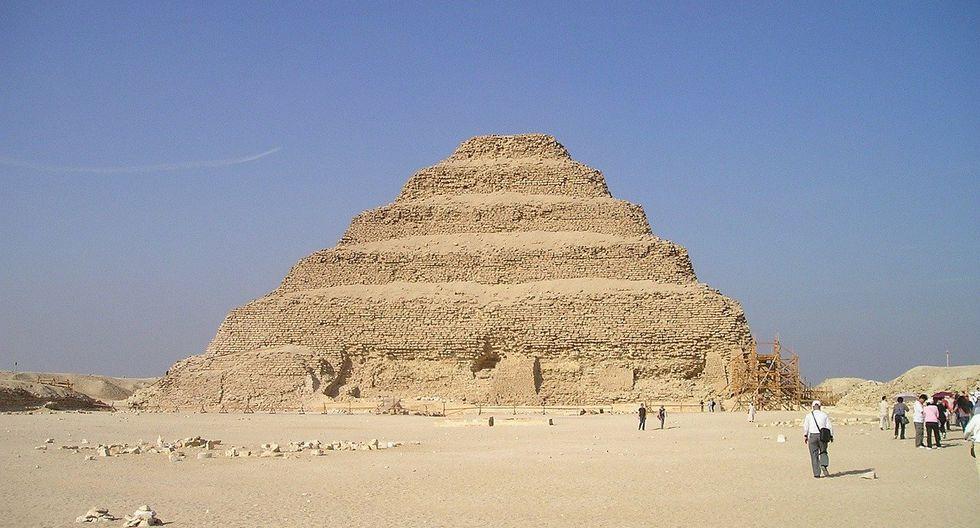 La pirámide de Saqqara es una de las más antiguas halladas en Egipto. (Foto: Pixabay)