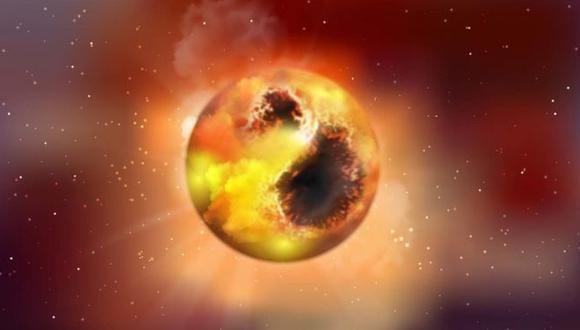 Betelgeuse es una estrella gigante roja unas 1.000 veces más grande que el Sol. (Imagen: MPIA GRAPHICS DEPT)
