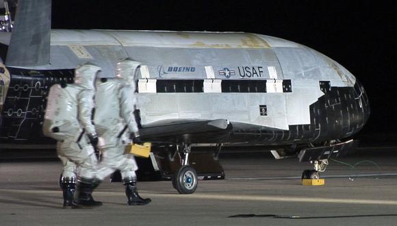 El programa del X-37B es clasificado. (USAF / AFP)