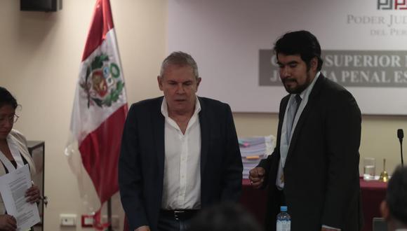 La audiencia de prisión preventiva contra Luis Castañeda Lossio continuará este martes 11 de febrero. (Foto: Hugo Perez / GEC)