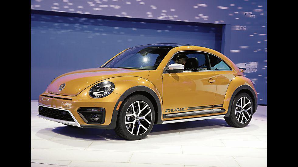 El nuevo Volkswagen Beetle Dune fue presentado en el Autoshow de Los Ángeles en noviembre de 2017. [Foto: AP]