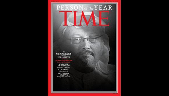 El título reconoce a la persona o grupo de personas que más han influenciado las noticias y el mundo. En esta oportunidad, fue elegido Jamal Khashoggi. (Foto: Twitter/@TIME)