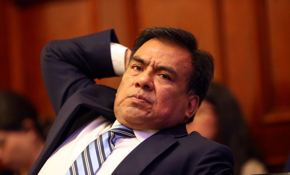 Javier Velásquez Quesquénevitó pronunciarse sobre si el congresista Miguel Torres es la 'Señora K'.  (FOTO: USI)