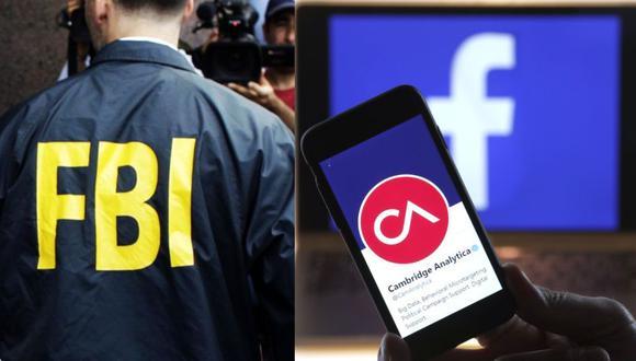 Facebook: FBI investiga a Cambridge Analytica. (Foto: AFP / Bloomberg)