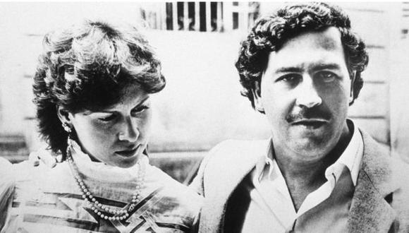 El narcotraficante Pablo Escobar junto a su esposa, María Victoria Henao.