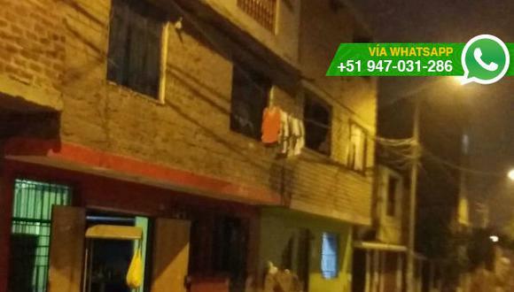 SJL: utilizan cables de las calles para colgar ropa mojada