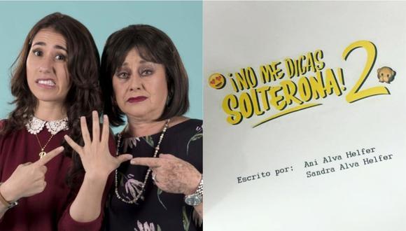 """""""No me digas solterona 2"""": protagonistas iniciaron la lectura de guión del filme que estrenará en el 2020. (Foto: Instagram)"""