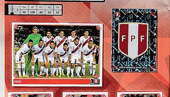 Álbum Panini Copa América: ¿Qué jugadores de Perú aparecen?