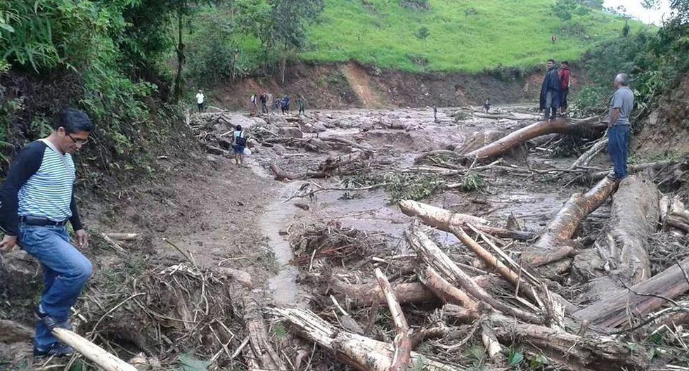 Fotos de los daños que dejó el huaico en Moyobamba - 2