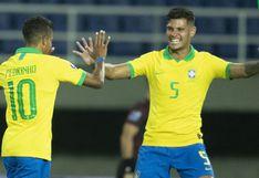 Brasil derrotó 3-1 a Uruguay por el grupo B del Preolímpico 2020