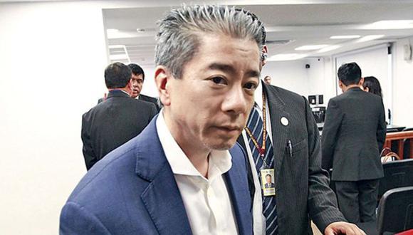 A Yoshiyama Sasaki se le devolverán los 500 mil soles que pagó como caución. Además, el juez cambió su comparecencia restringida por simple. (Foto: Difusión)