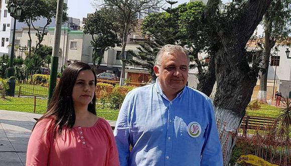 Verónika Mendoza anunció su apoyo a la postulación de Guerra García a la municipalidad de Lima. (Foto Difusión)
