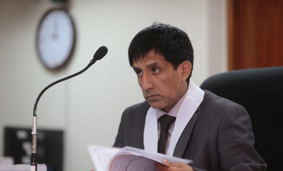 El juez Richard Concepción Carhuancho está al frente del Primer Juzgado de Investigación Preparatoria de la Sala Penal Nacional. (Foto: El Comercio/Archivo)