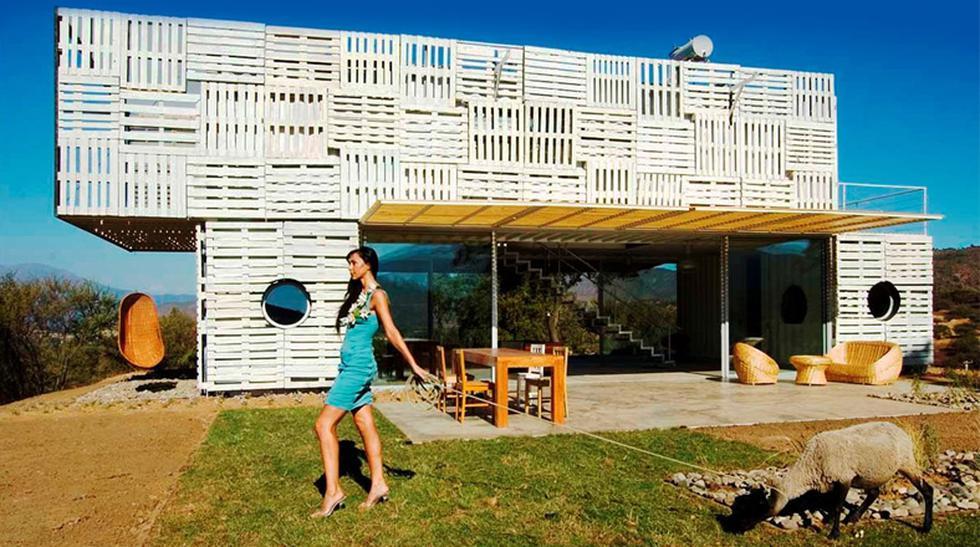 Reciclaje total: Esta casa fue construida con residuos en Chile - 1