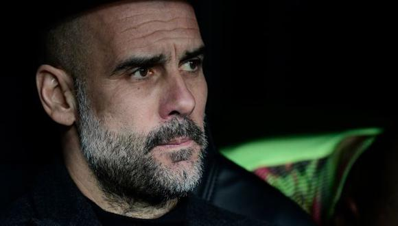 Pep Guardiola no dio la llave por cerrada tras la victoria de Manchester City sobre Real Madrid. (Foto: AFP)