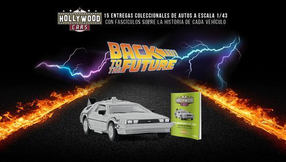 Los Autos de hollywood es una colección compuesta de 15 entregas. cada entrega incluye un auto a escala 1/43 y un fascículo con valiosa información y escenas de películas más emblemáticas de Hollywood