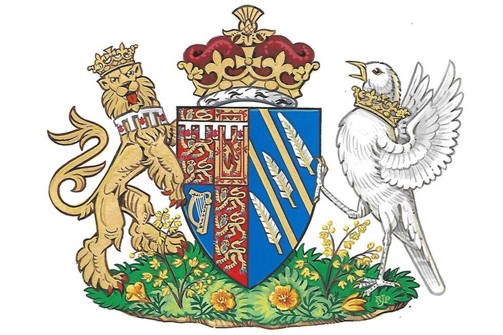 Así es el escudo de armas de Meghan Markle.