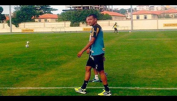 Luis Ramírez entrenó por primera vez con el Botafogo