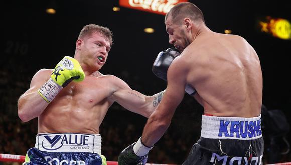 Canelo vs. Kovalev: mejores imágenes de la pelea. (Foto: AFP)