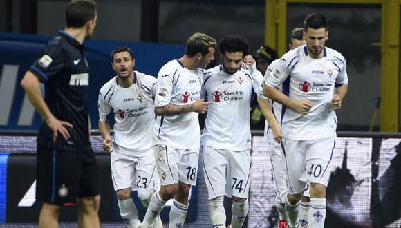 Fiorentina venció 1-0 a Inter de Milán por la Serie A (VIDEO)