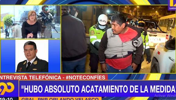 La Policía hizo un balance sobre los operativos en el primer día de inmovilización social obligatoria de agosto. (Latina)